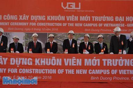 Truong DH Viet Duc khoi cong xay dung 200 trieu USD - Anh 1