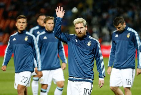 Argentina va noi am anh khi vang Messi - Anh 1