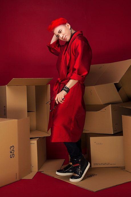 "Rapper Karik lich lam nhung van cuc ""ngau"" voi toc do - Anh 5"