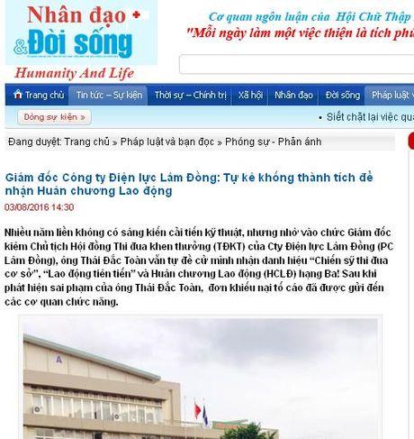 Kiem tra noi dung phan anh cua bao Nhan dao va Doi song - Anh 1