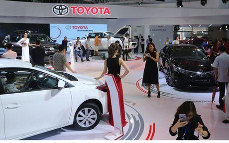 Dan xe 'hot' cua Toyota tai VMS 2016 - Anh 1