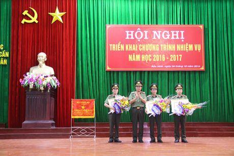 Dai hoc Ky thuat – Hau can CAND trien khai nhiem vu nam hoc 2016 – 2017 - Anh 1
