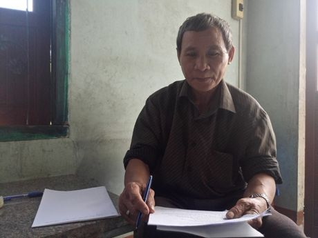 Binh Dinh: Dan 30 nam di doi dat vi chinh quyen lay cap cho nguoi khac - Anh 1