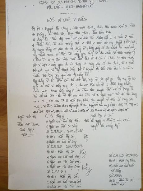 Binh Dinh: Dan 30 nam di doi dat vi chinh quyen lay cap cho nguoi khac - Anh 2
