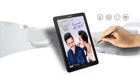 "Galaxy Tab A (2016) voi but S Pen - Diem ""nong"" tren thi truong tablet nua cuoi 2016 - Anh 2"