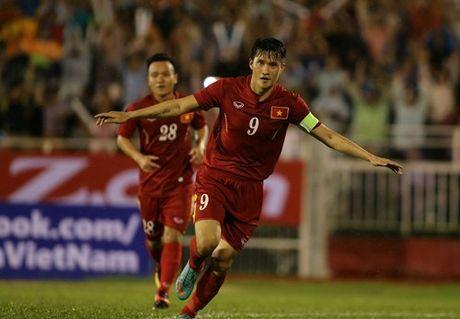 Tuyen Viet Nam thang CHDCND Trieu Tien 5-2 - Anh 1