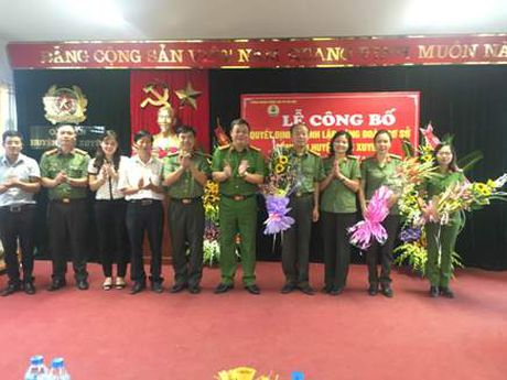 Thanh lap cong doan co so Cong an huyen Phu Xuyen - Anh 1