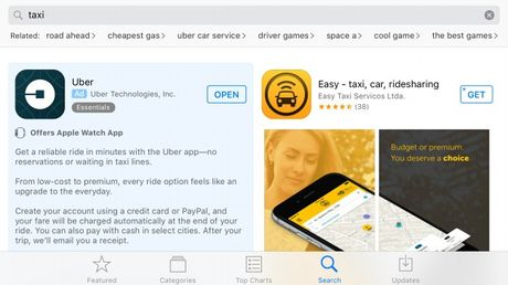 Apple bat dau cho hien nhung quang cao tren App Store - Anh 1