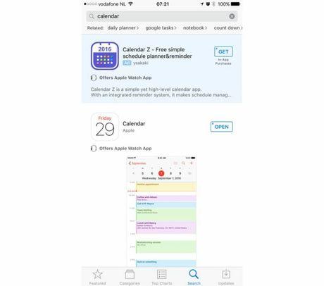 Apple bat dau cho hien nhung quang cao tren App Store - Anh 2
