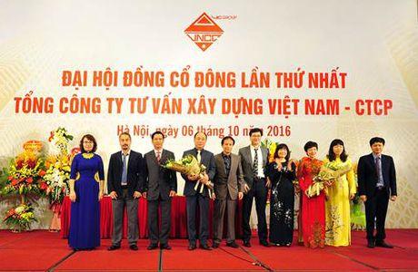 Tong Cong ty Tu van Xay dung Viet Nam (VNCC) ra mat Ban lanh dao moi - Anh 1