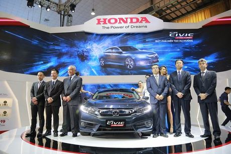 Tam diem Civic moi o gian hang Honda Viet Nam - Anh 1