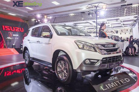 Kham pha SUV dac biet Isuzu mu-X Limited gia 990 trieu dong - Anh 3