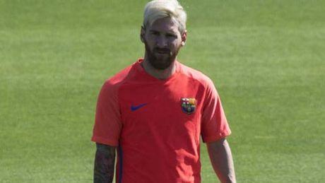 Messi tro lai truoc dai chien voi Man City - Anh 1