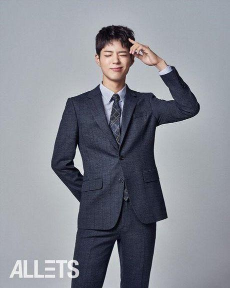 Chan lam The tu, Park Bo Gum lam doanh nhan dep trai - Anh 2