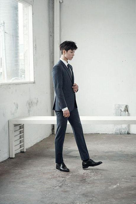 Chan lam The tu, Park Bo Gum lam doanh nhan dep trai - Anh 8