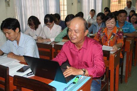 LDLD An Giang: Tap huan ky nang viet bao - Anh 1