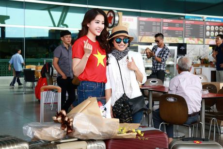 Nam Em tham gia hoat dong dau tien tai Hoa hau Trai dat 2016 - Anh 7