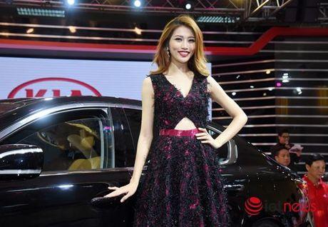 Xem 'chan dai' khoe dang tai Trien lam o to Viet Nam 2016 - Anh 8