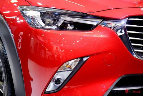 Chi tiet Mazda CX - 3 vua ve Viet Nam - Anh 13