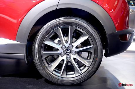 Chi tiet Mazda CX - 3 vua ve Viet Nam - Anh 14