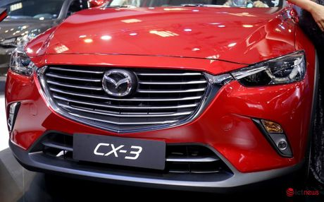 Chi tiet Mazda CX - 3 vua ve Viet Nam - Anh 15