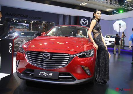 Chi tiet Mazda CX - 3 vua ve Viet Nam - Anh 1