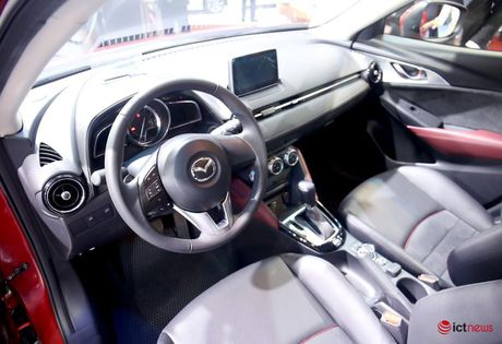 Chi tiet Mazda CX - 3 vua ve Viet Nam - Anh 3