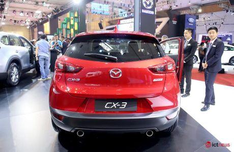 Chi tiet Mazda CX - 3 vua ve Viet Nam - Anh 4