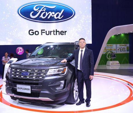 Ford Explorer, chiec SUV hang sang kieu My - Anh 1