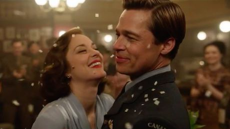 Brad Pitt va nguoi tinh tin don tinh tu trong trailer 'Allied' - Anh 1