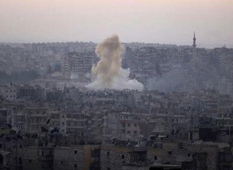 Danh bom dam mau o cua khau Tho-Syria - Anh 1