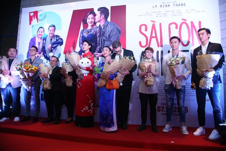 Maya - Nha Phuong rang ro trong buoi ra mat phim 'Sai Gon anh yeu em' - Anh 1