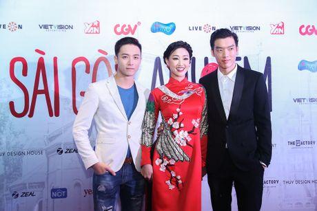 Maya - Nha Phuong rang ro trong buoi ra mat phim 'Sai Gon anh yeu em' - Anh 8
