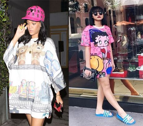 Nhung 'phien ban Rihanna' trong showbiz Viet - Anh 13