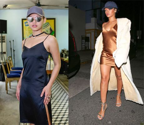 Nhung 'phien ban Rihanna' trong showbiz Viet - Anh 14