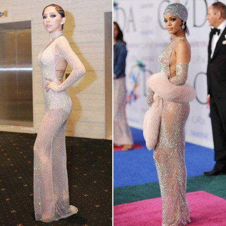 Nhung 'phien ban Rihanna' trong showbiz Viet - Anh 8
