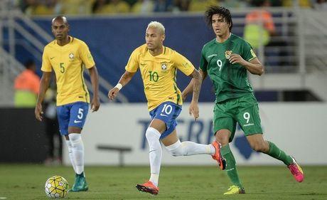 Neymar ruc sang, Brazil huy diet Bolivia voi thang loi 5 sao - Anh 1