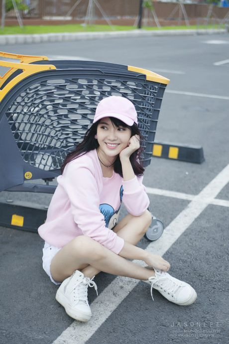 'Hot girl xe bus' bi che khi thu suc hat nhac Trinh - Anh 8