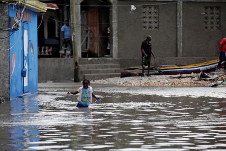 Chum anh Haiti tan hoang sau sieu bao Matthew - Anh 14