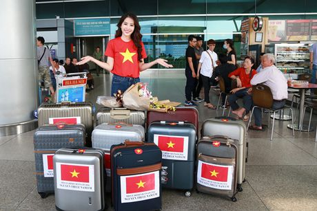 Hinh anh dau tien cua Hoa khoi Nam Em tai Miss Earth - Anh 5