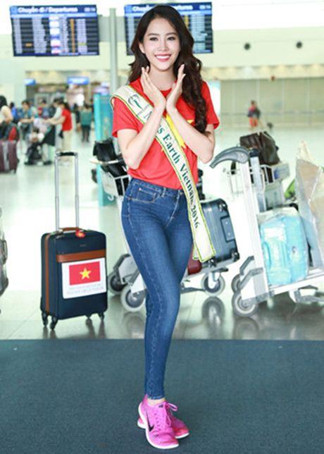 Hinh anh dau tien cua Hoa khoi Nam Em tai Miss Earth - Anh 6