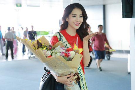 Hinh anh dau tien cua Hoa khoi Nam Em tai Miss Earth - Anh 7