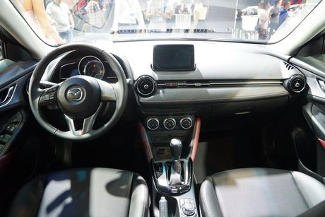 Anh chi tiet Mazda CX-3 vua ra mat tai Viet Nam - Anh 11