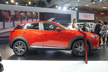 Anh chi tiet Mazda CX-3 vua ra mat tai Viet Nam - Anh 3
