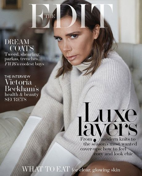 Victoria Beckham va nhung hinh anh an tuong tren The Edit - Anh 7
