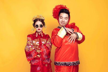 Le an hoi 'cuc chat' cua stylist Sai Gon xinh dep va chong doanh nhan - Anh 1
