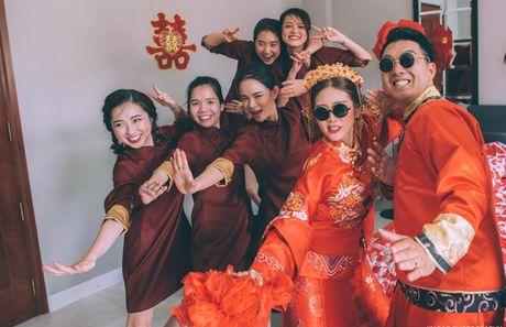 Le an hoi 'cuc chat' cua stylist Sai Gon xinh dep va chong doanh nhan - Anh 3
