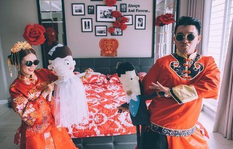 Le an hoi 'cuc chat' cua stylist Sai Gon xinh dep va chong doanh nhan - Anh 4