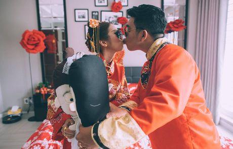 Le an hoi 'cuc chat' cua stylist Sai Gon xinh dep va chong doanh nhan - Anh 5