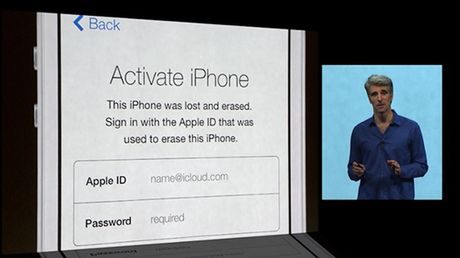 Mot so iPhone 6S va iPhone 7 dinh loi Activation Lock la - Anh 1